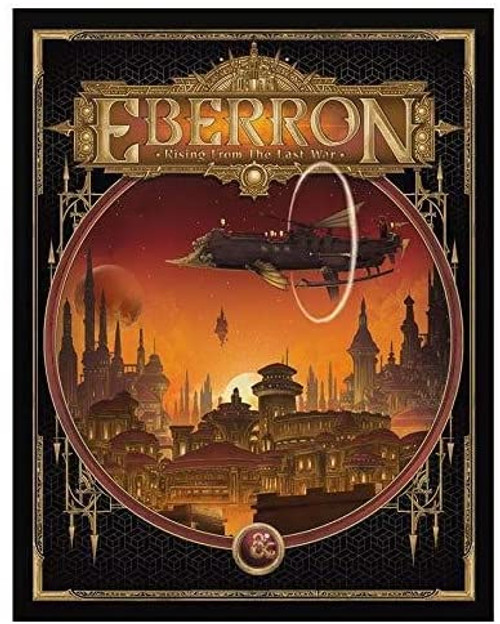 D&D (5E): Eberron - Rising from the Last War (Limited Edition Cover)