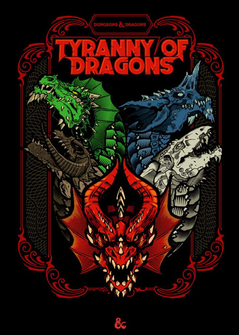 D&D (5E): Tyranny of Dragons (Limited Edition Cover)