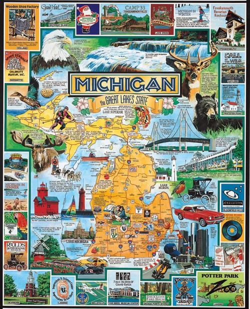 Best of Michigan Puzzle (WMP127)