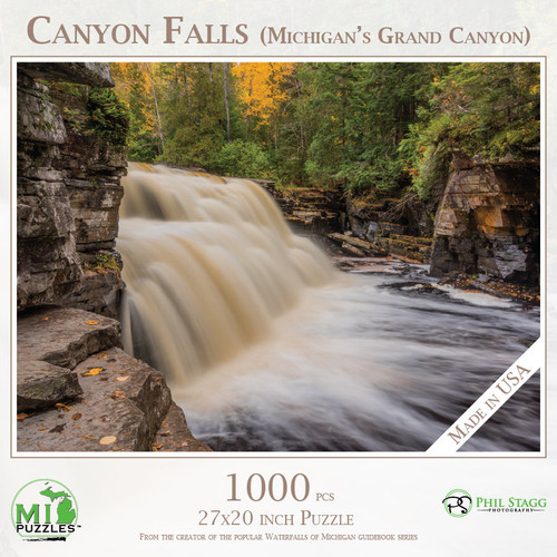 Canyon Falls (Michigan's Grand Canyon)
