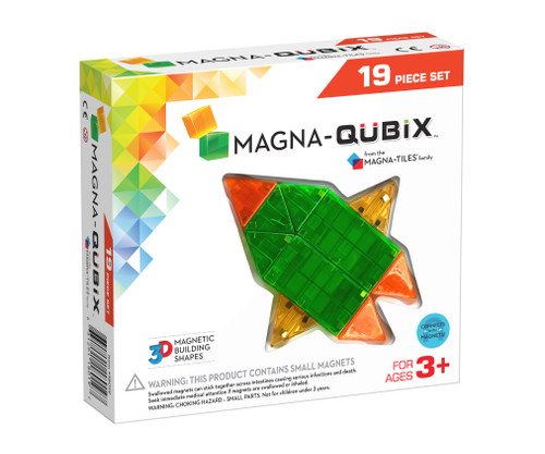 Magna -Qubix 19 Piece Set (18019)