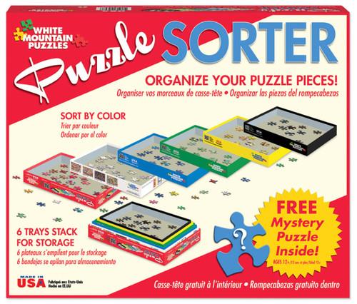 Puzzle sorter - 6 pieces