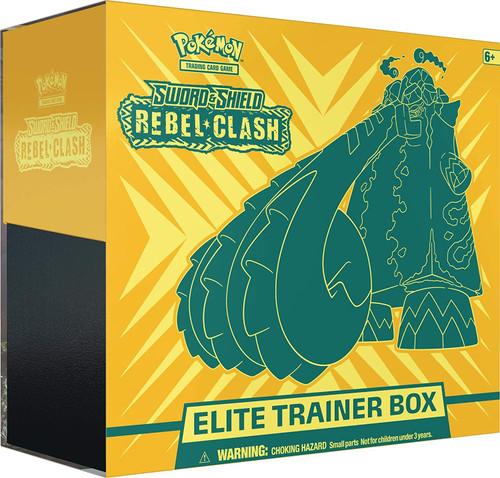 Pokemon: Sword & Shield - Rebel Clash Elite Trainer Box