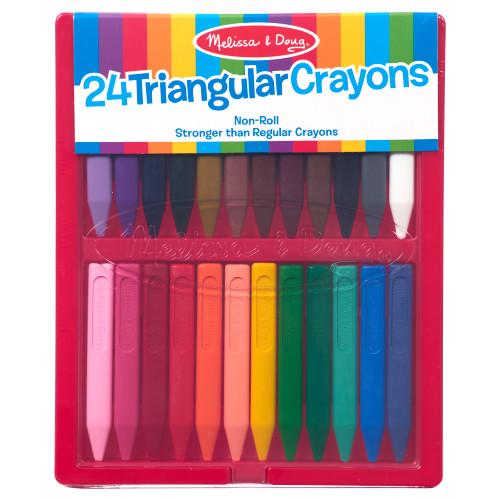 24 ct. Triangular Crayons