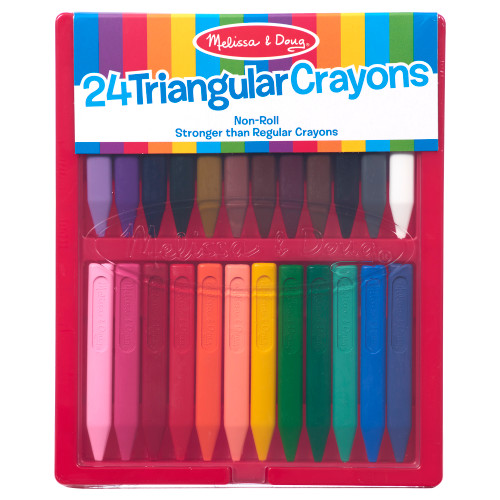 24 ct. Triangular Crayons