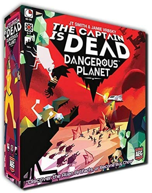 The Captain Is Dead: Dangerous Planet