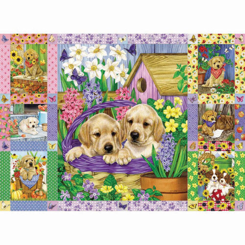 Puppies and Posies Quilt