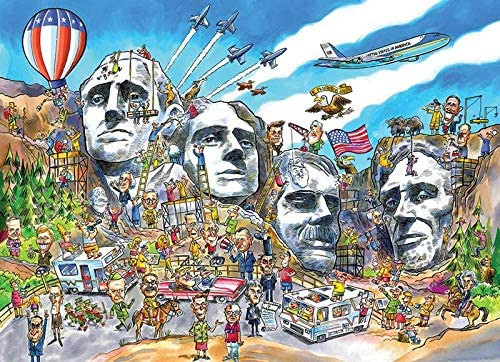 Doodle Town: Mount Rushmore