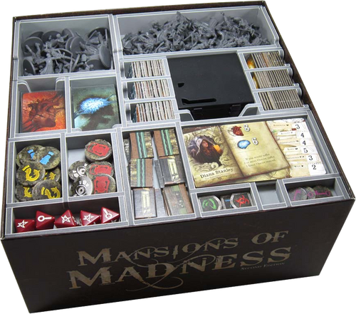 Box Insert: Mansions of Madness (2E) & Expansions