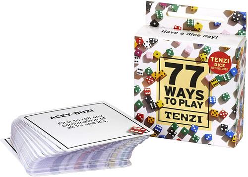 77 Ways to Play Tenzi (TENZI77)