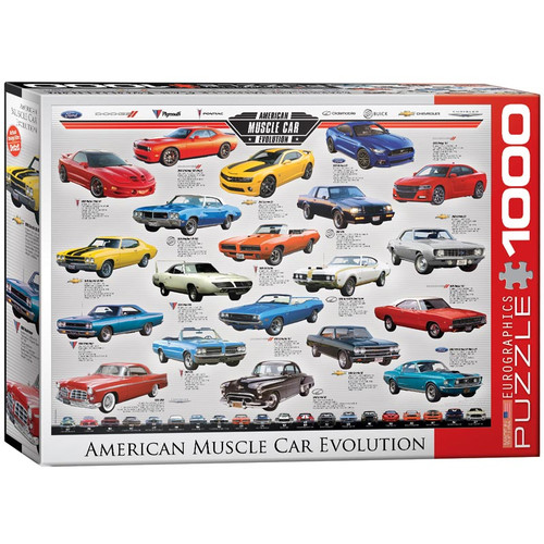 American Muscle Car Evolution (EU60000682)