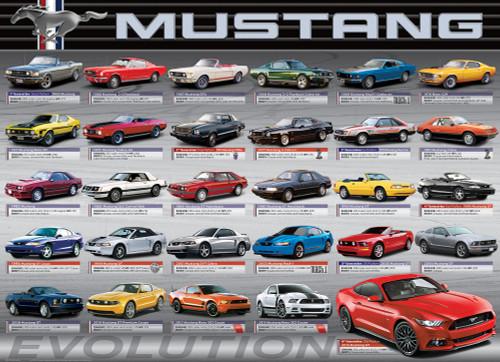 Ford Mustang - Evolution (Horizontal)