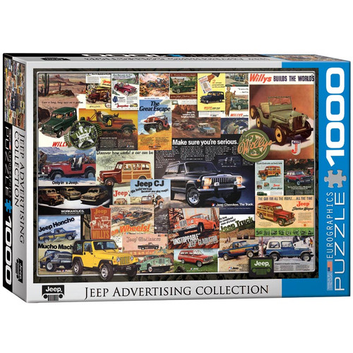 Jeep Advertising Collection