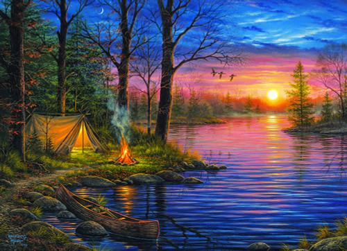 Evening Mist by Abraham Hunter
