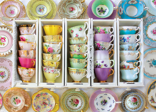 Colorful Tea Cups