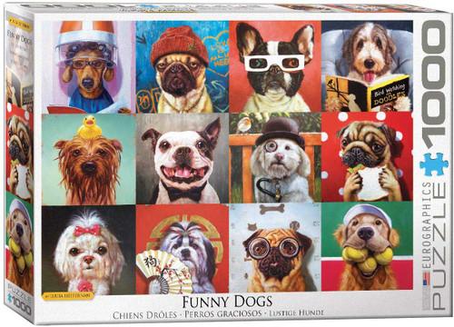 Funny Dogs by Lucia Heffernan