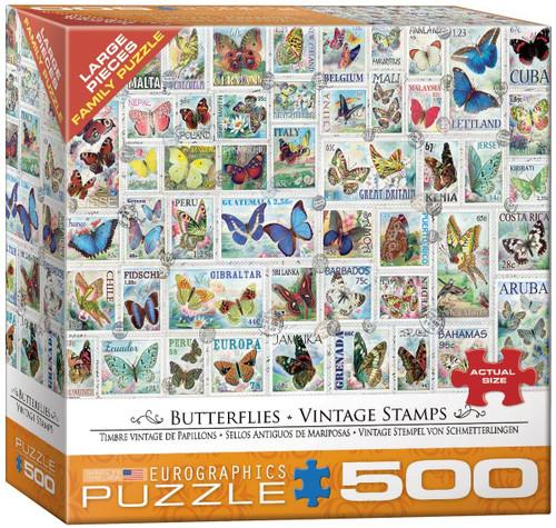 Butterflies - Vintage Stamps
