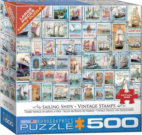 Sailing Ships - Vintage Stamps