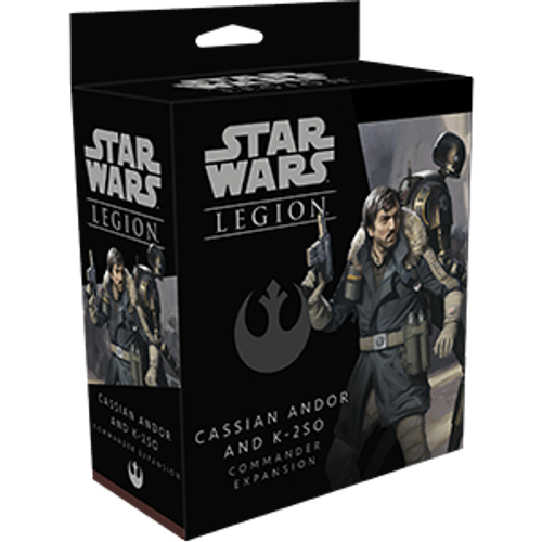 Star Wars: Legion - Cassian Andor and K-2SO (Commander)