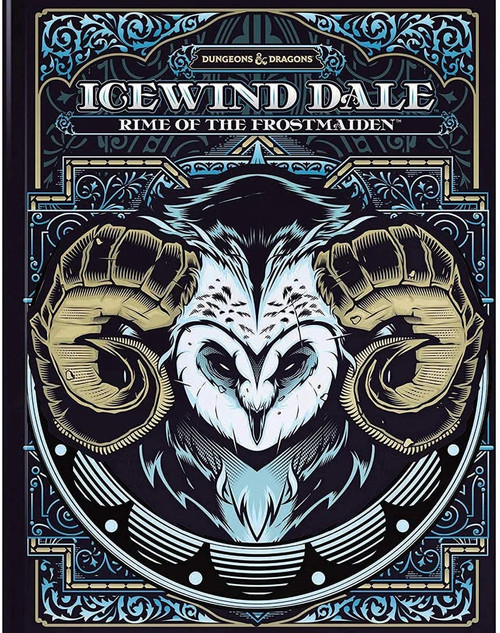 D&D: Icewind Dale - Rime of the Frostmaiden (Limited Edition Cover)