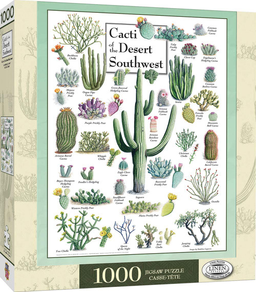 Cacti of the Desert Southwest (1000 pcs)