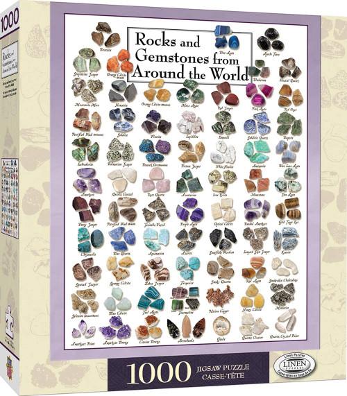 Rocks and Gemstones from Around the World (1000 pcs)