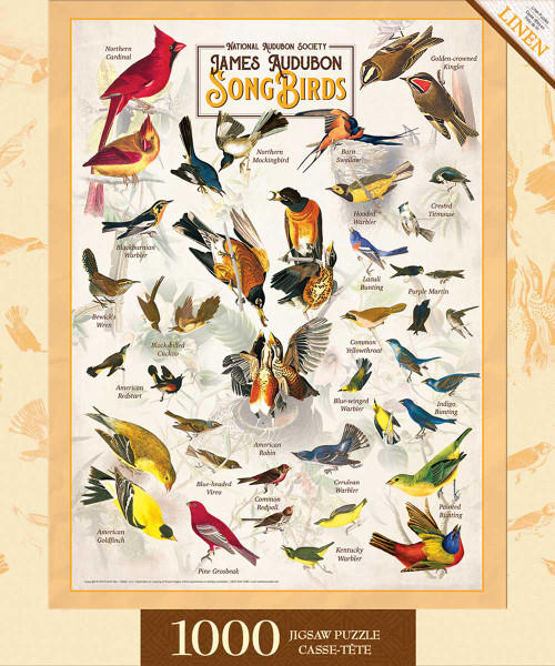 Audubon - Songbirds (1000 pcs)