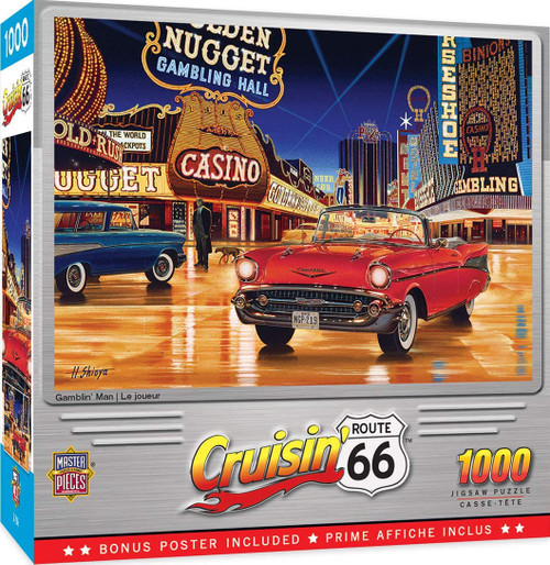 Cruisin 66 - Gamblin Man (1000 pcs)