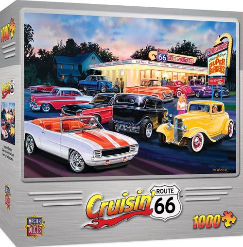 Cruisin 66 - Dogs and Burgers (1000 pcs)