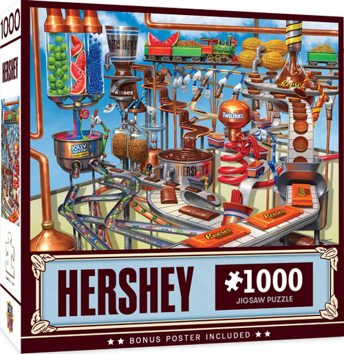 Hershey's Chocolate Factory (1000 pc)