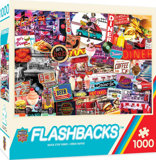 Flashbacks - Quick Stop Diner (1000 pc)