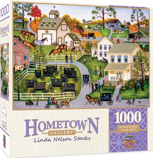 Hometown Gallery - Sunday Meeting (1000 pcs)