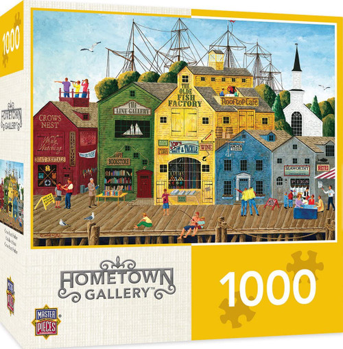 Hometown Gallery - Crows Nest Harbor (1000 pcs)