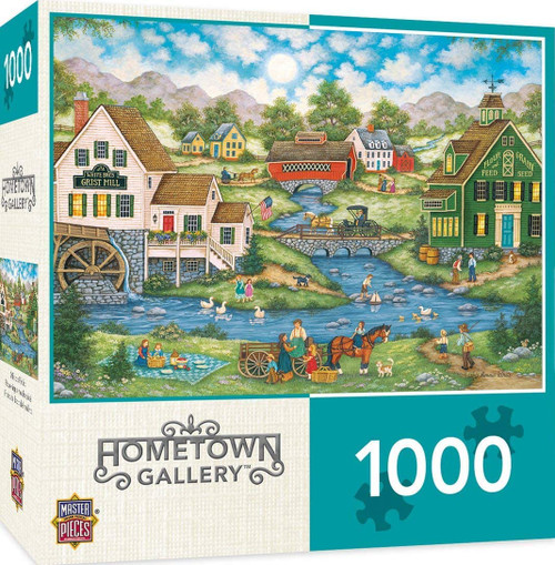 Hometown Gallery - Millside Picnic (1000 pcs)