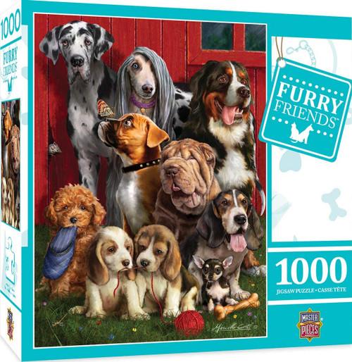 Furry Friends - Sitting Pretty (1000 pc)