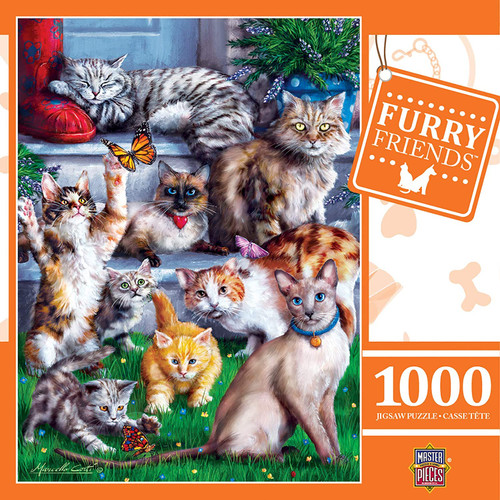 Furry Friends - Butterfly Chasers (1000 pcs)