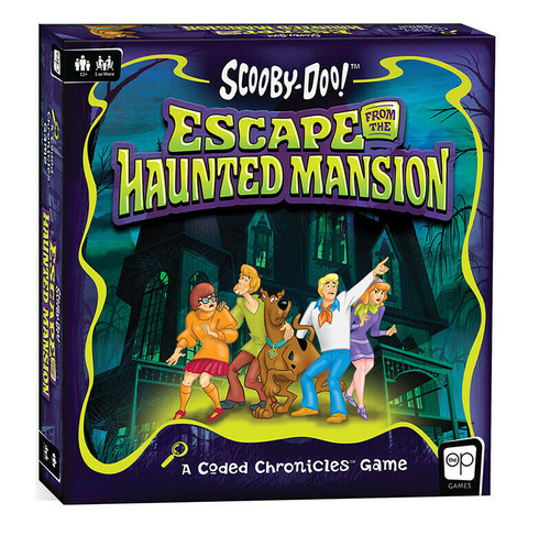 Scooby-Doo! Escape from the Haunted Mansion (Coded Chronicles)