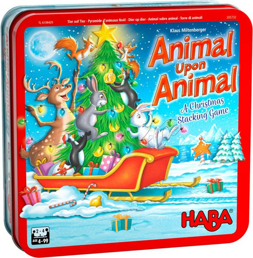 Animal Upon Animal: Christmas (Tin)