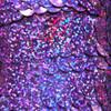 Sequin Trim 10mm Violet Purple Hologram Glitter Sparkle Metallic