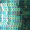 Sequin Trim 6mm French Blue Crystal Rainbow Iris Iridescent