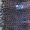 Sequin Trim 6mm Amethyst Crystal Rainbow Iris Iridescent