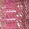 Sequin Trim 8mm Pink Hologram Glitter Sparkle Metallic