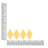 1.75 inch diamond sequin size chart