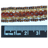 Beaded Trim Bronze Sequins Brown Gold Glass Seed Beads mm Size Chart