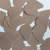 """Pear Drop Sequin 1"""" Ivory Beige Opaque Satin Pearl"""