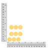 0.70 inch / 18mm Round  Sequin Size Chart
