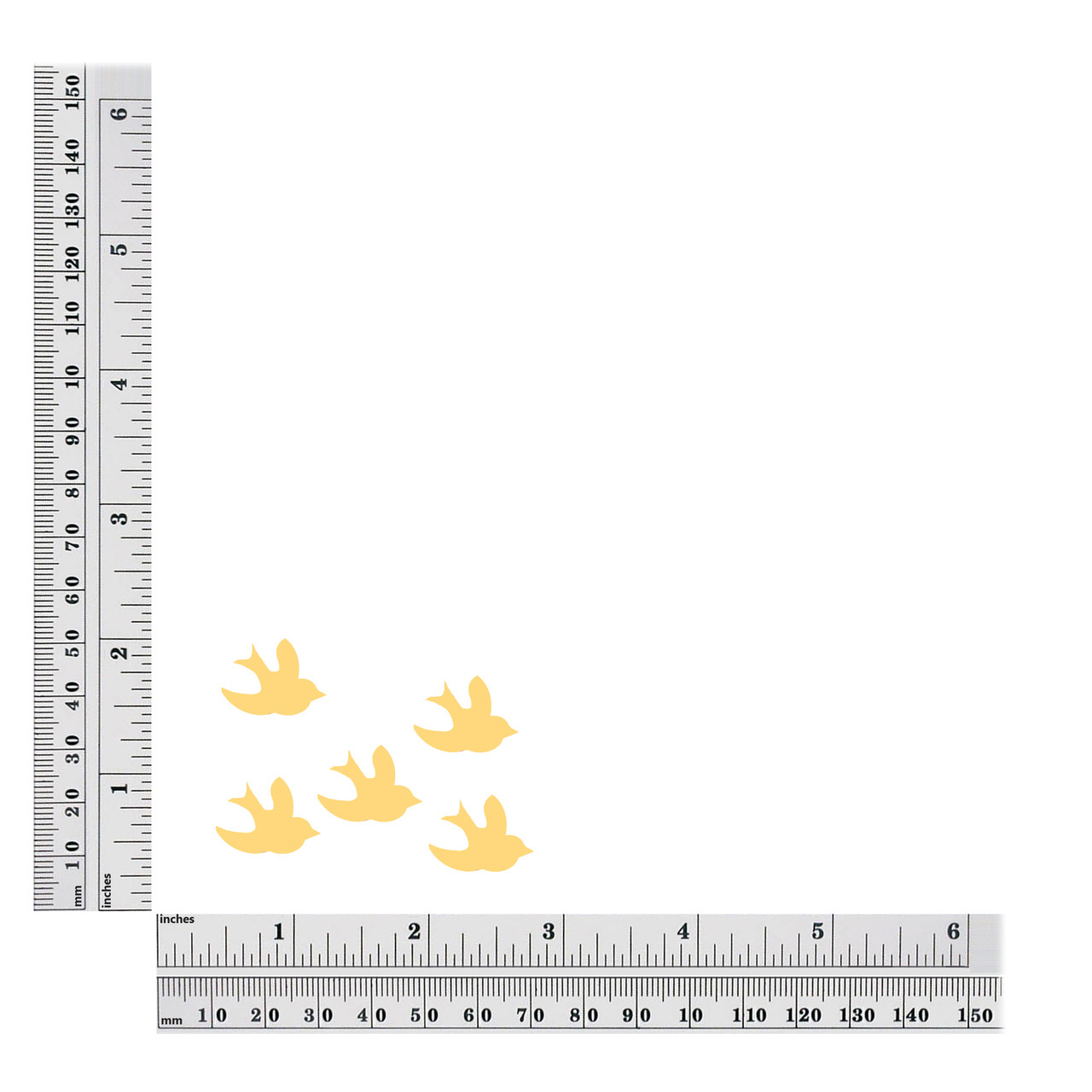 20mm bird sequin size chart