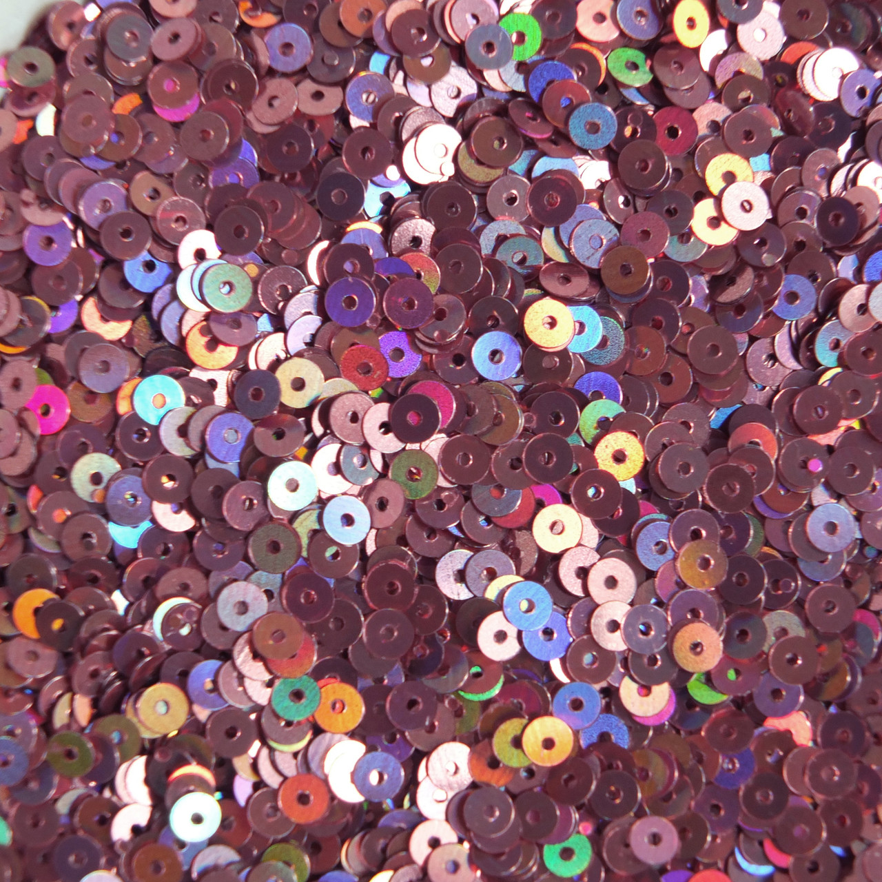 4mm Flat SEQUIN PAILLETTES ~ PINK  Metallic ~ Made in USA