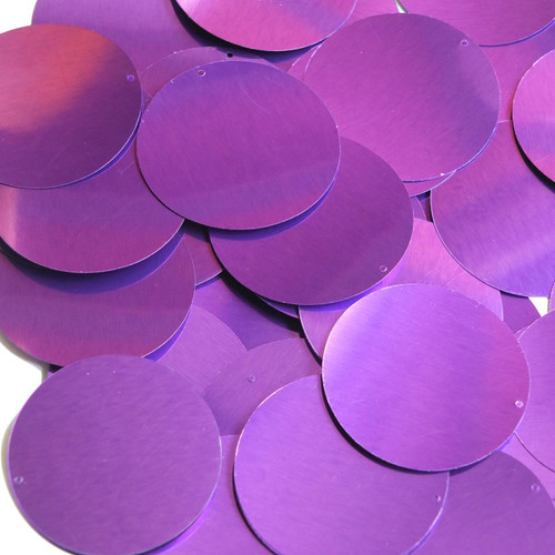 "1.5"" Sequins Light Purple Metallic"