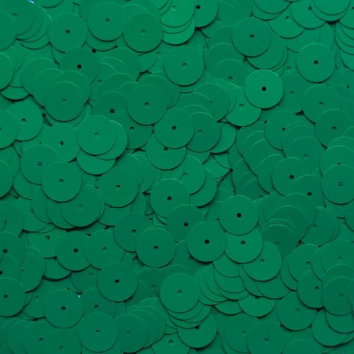 10mm Sequins Green Metallic